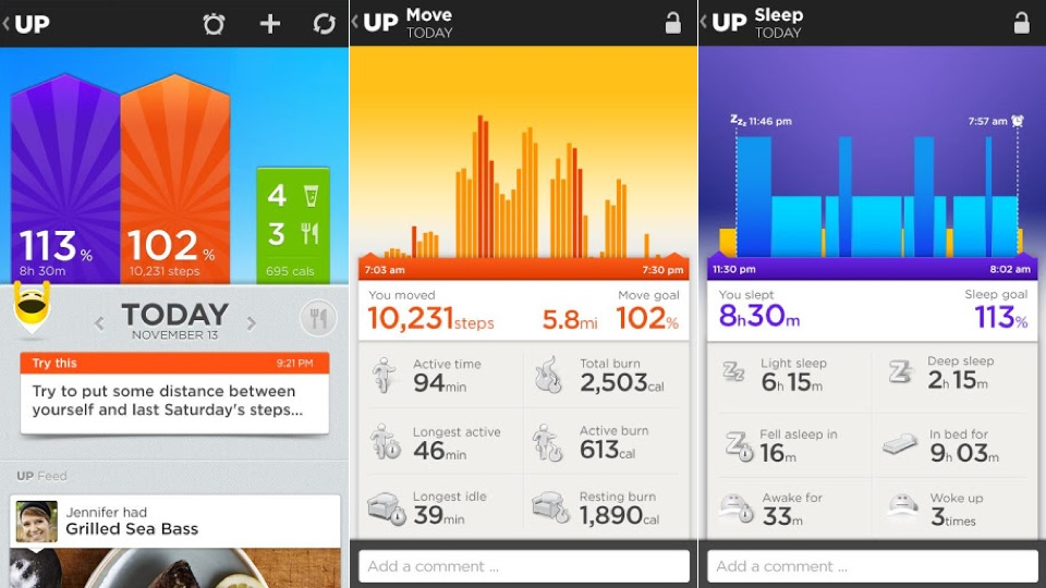 Jawbone UP Activity App Comes to Android | PCMag.com