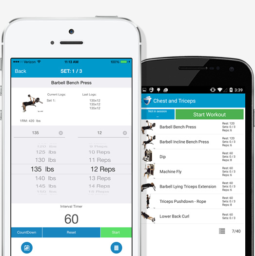 JEFIT Workout Tracker, Weight Lifting, Gym Log App - Apps ...